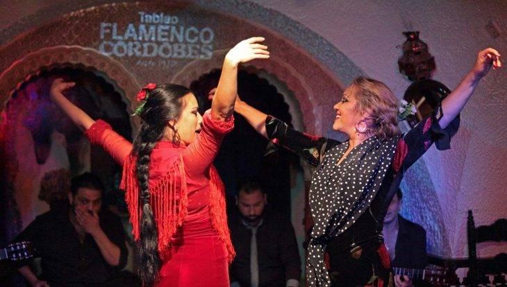 espectáculo de flamenco en el tablao cordobés