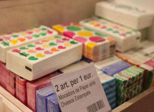 tienda tiger en Barcelona, pañuelos
