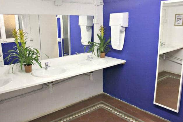 the Hipstel cuarto de baño