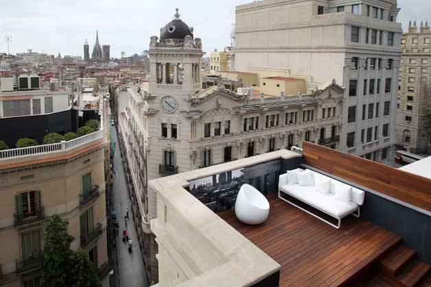 Room Mate terraza vista