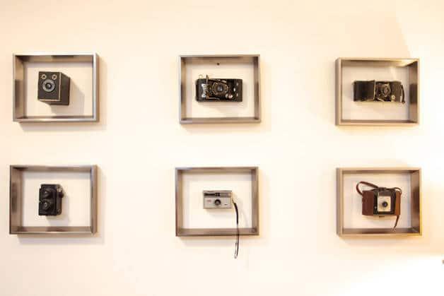 the Hipstel marcos con cámaras fotográficas
