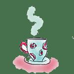 dibujo taza de té