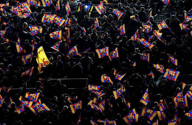 Barça banderas