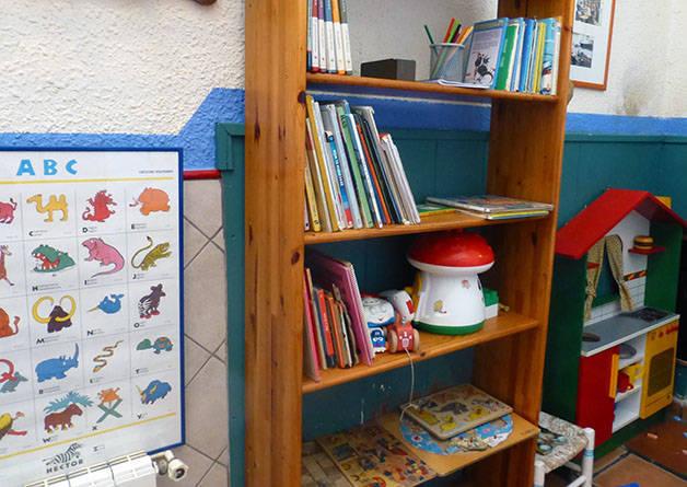 la nena zona dedicada a los niños