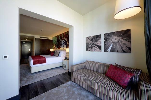 Hotel Indigo salón habitación