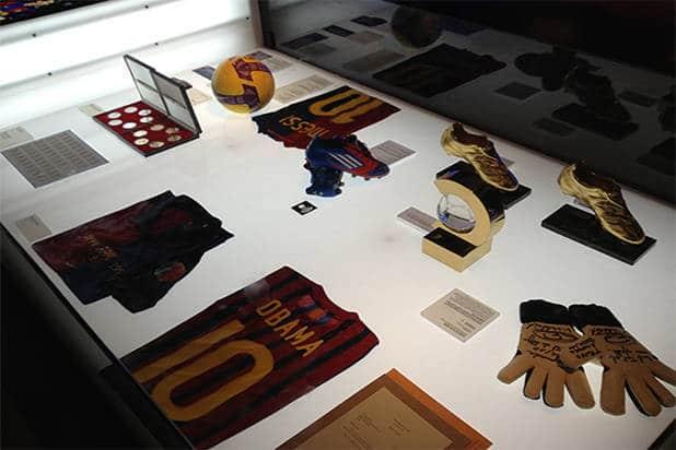 Galería museo FC Barcelona