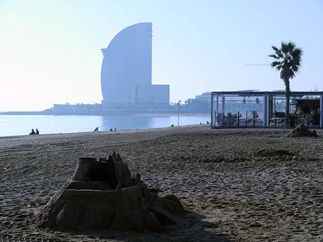 tiempo en barcelona invierno