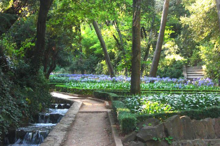 parque del laberinto de horta jardín