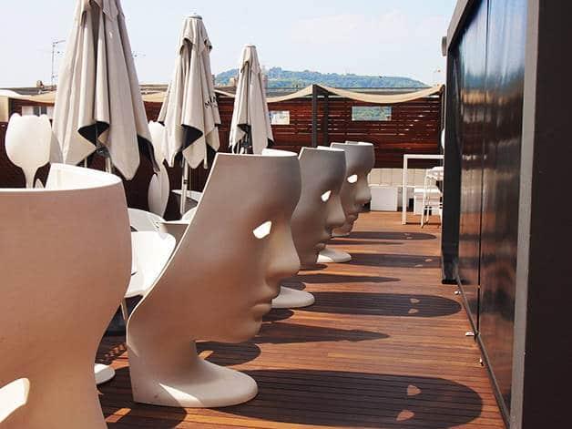 terrazas de hotel hotel españa