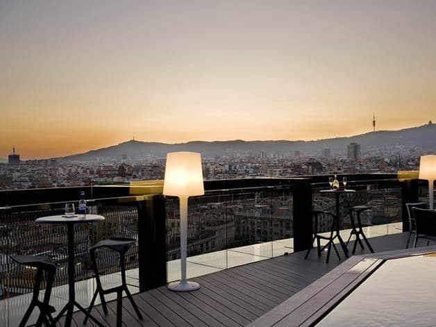 terrazas de hotel: barceló raval