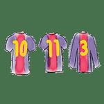 camisetas barça 10 11 3