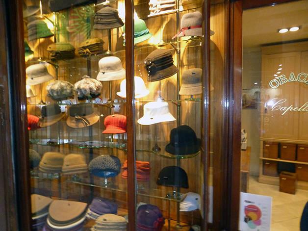 sombrerería Obach tiendas emblemáticas
