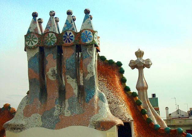 chimeneas Casa Batlló