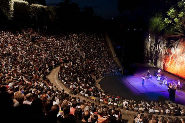 festival grec teatro griego