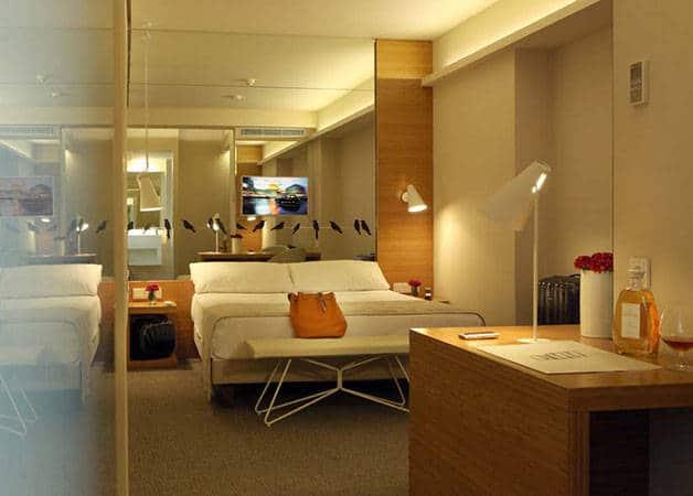 park hotel habitación
