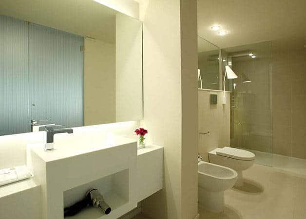 park hotel cuarto de baño