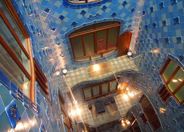 Patio Azul Casa Batlló