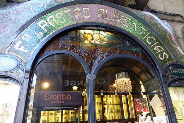 pastelería Escribà tiendas emblemáticas