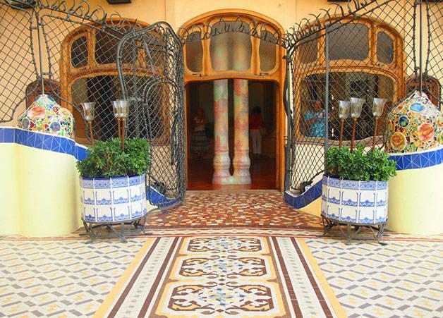 patio Casa Batlló