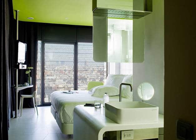 barcelo raval habitación verde