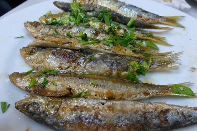 barceloneta plato pescado