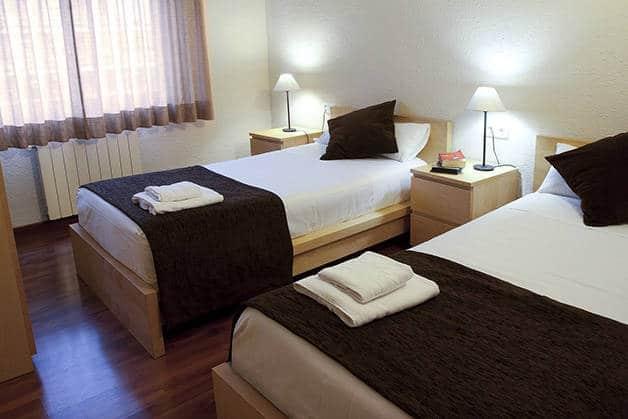 habitación para 2 hotel madanis