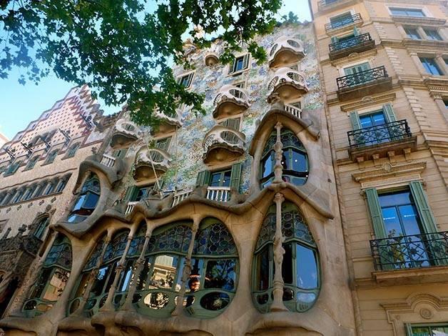 fachadas batlló amatller modernismo catalán