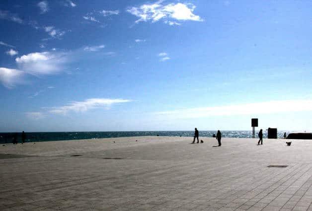 vacaciones de Pascua mar Barcelona