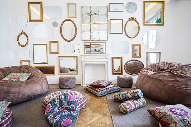 sala relax casa gracia fin de semana bohemio