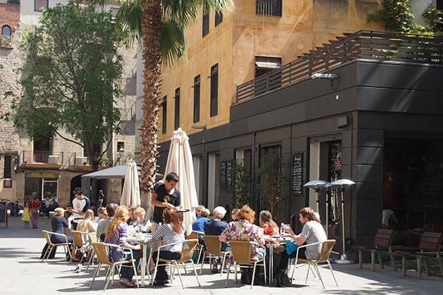 alsur café terrazas soleadas
