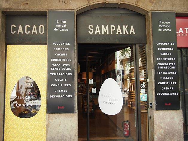 cacao sampaka chocolaterías de Barcelona