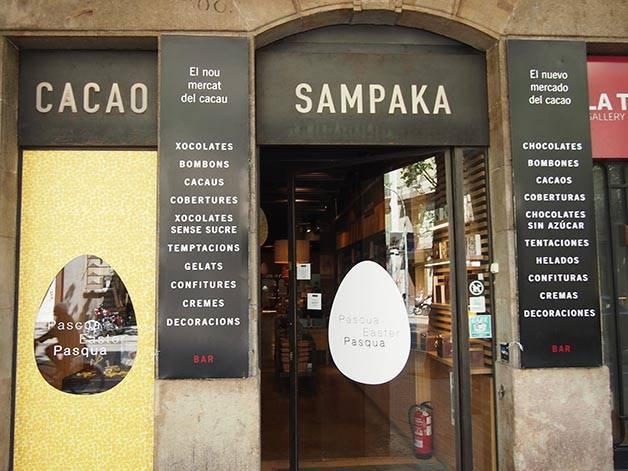 cacao sampaka chocolaterías de Barcelona
