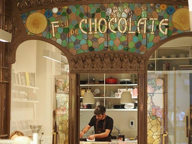 chocolaterías Chök Barcelona