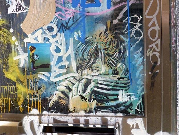 street art gótico fin de semana de arte