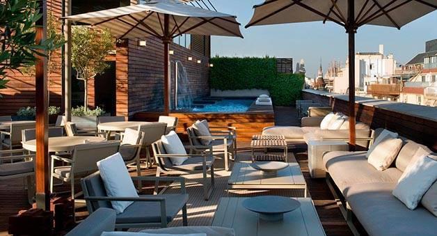 semana de las terrazas en Barcelona: hotel Omm