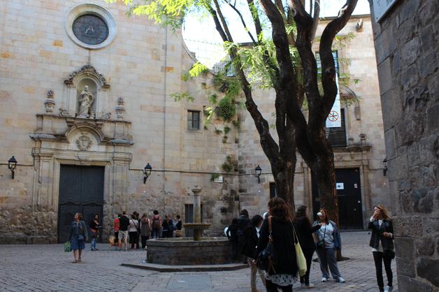 barri gòtic plaça Sant Felip Neri