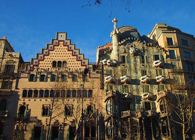 casa batlló y casa Amatller Modernismo e historia Barcelona