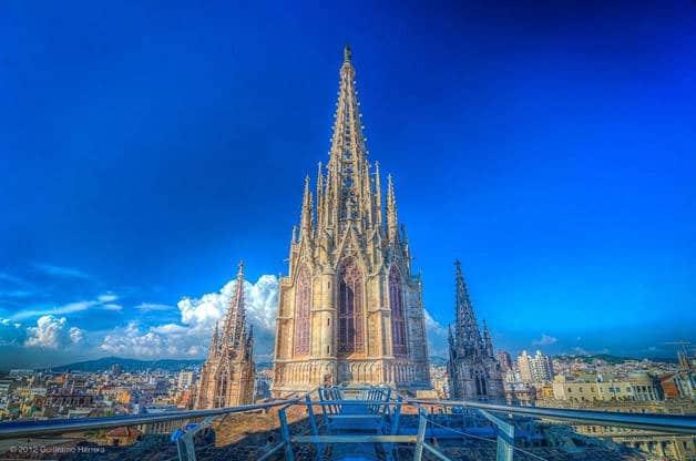 catedral exterior fin de semana historia Barcelona