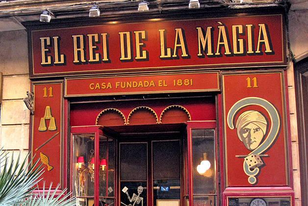 rei de la màgia fin de semana historia en Barcelona