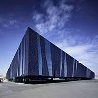 edificio del Fòrum de Barcelona arquitectura