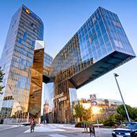 """edificio """"gas natural"""" de Barcelona arquitectura"""