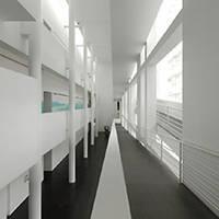 MACBA interior blanco arquitectura