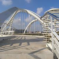 puente de bac de roda Barcelona arquitectura