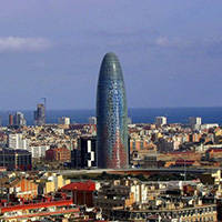 torre agbar Barcelona arquitectura