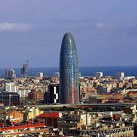 torre agbar Barcelona arquitectura