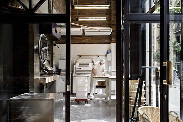 panadería Baluard del Eixample en el hotel Praktik Bakery