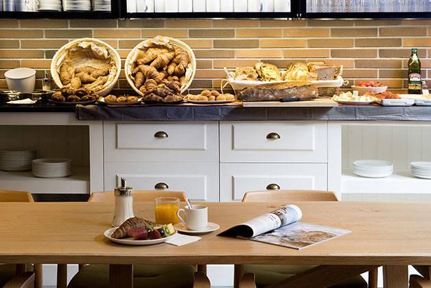 desayuno Baluard Hotel Praktik Bakery