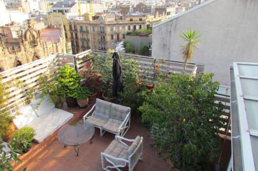 trueque casa terraza, intercambio de piso