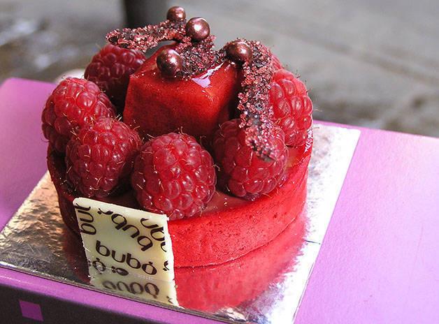 tarta de frutos rojos bubó