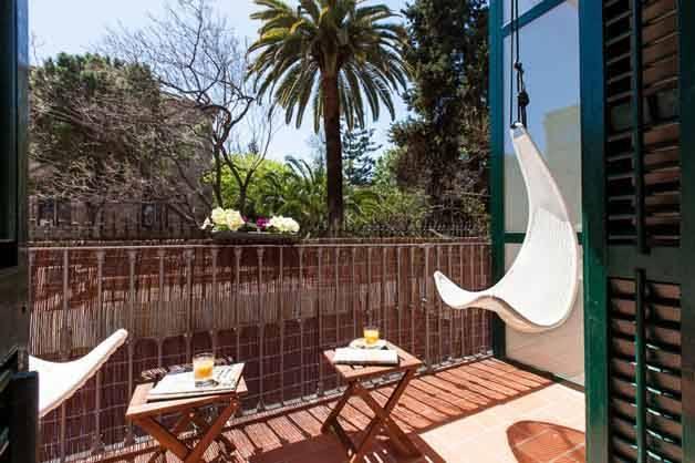 Hostal Ecozentric-terraza fin de semana viaje ecológico